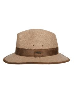 SWANWICK HEMP HAT, BEIGE