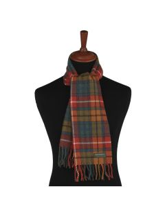 SCARF ANTIQUE BUCHANAN, RUST