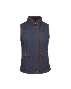 QUILTED WAISTCOAT ADELE , NAVY