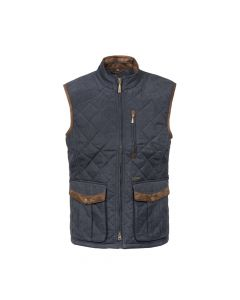 QUILTED WAISTCOAT THAMES, NAVY