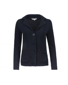 LADIES BLAZER STRUCTURE, NAVY