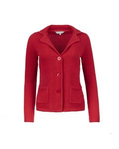 LADIES BLAZER STRUCTURE, RED
