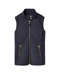 QUILTED WAISTCOAT BROOKDALE, NAVY