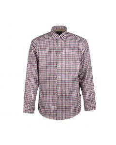 SHIRT BRUSHED CHECK, RED