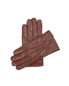 GLOVE LEATHER , CAMEL