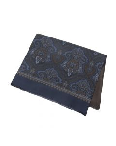 SCARF PAISLEY, NAVY
