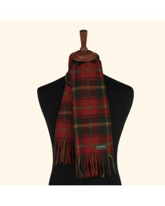 SCARF DARK MAPLE, RED