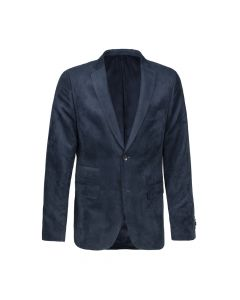 JACKET SUEDINE , NAVY