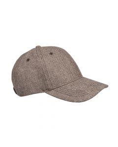 CAP HERRINGBONE, BROWN