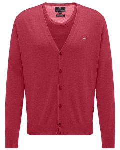 CARDIGAN BUTTON, RED