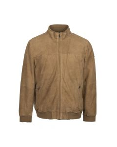 JACKET SUEDE, NUTMEG