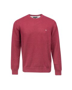 SWEATER ROUND NECK , RED