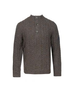 SWEATER TROYER CABLE, BROWN