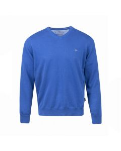 SWEATER V- NECK , KOBALT
