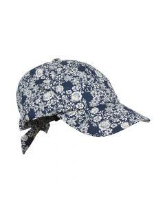 CAP FLOWERS, NAVY