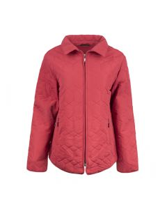 QUILTED JACKET DIAMOND, RED
