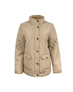 QUILTED JACKET, GOLD