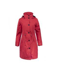 RAIN COAT , RED