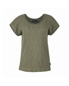 LADIES T-SHIRT LEE, OLIVE