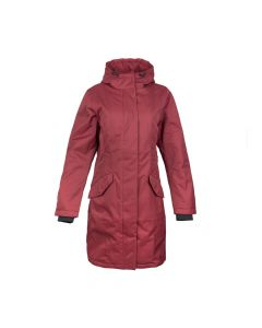 COAT ROME PADDED , RED