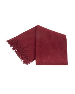 SHAWL PLAIN, RED