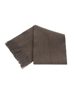 SHAWL PLAIN, BROWN