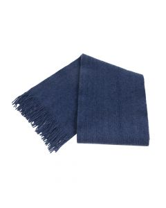 SHAWL PLAIN, DENIM