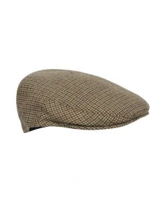CAP WITH EARFLAP, BROWN