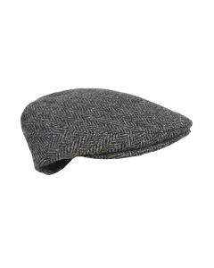 CAP TWEED , BROWN