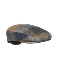 CAP TWEED , BLUE