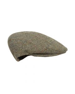 CAP TWEED , GREEN
