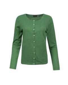 CARDIGAN PEARL BUTTON, GREEN