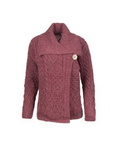 LADIES CARDI LUCY, RED
