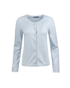 CARDI PEARL BUTTON, BABY BLUE