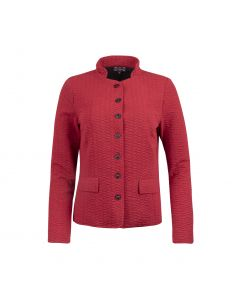 JACKET STITCHED , RED