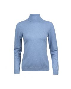 PULLOVER TURTLE NECK, SKY