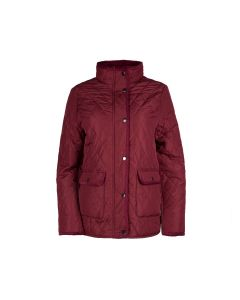QUILT JACKET ISABEL, BURGUNDY