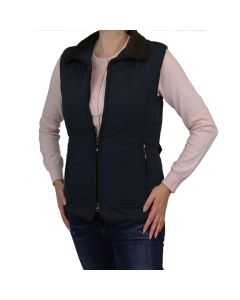 QUILTED WAISTCOAT, NAVY