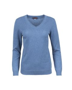 SWEATER V- NECK , BLUE