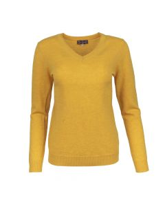 SWEATER V- NECK , GOLD