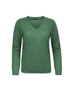 SWEATER V- NECK , GREEN