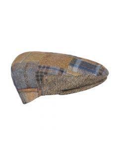 PATCHWORK CAP, BROWN
