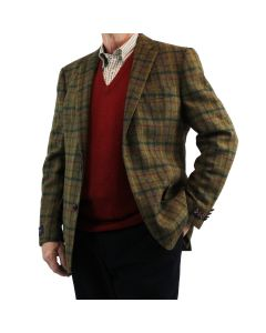 JACKET ROCHDALE, BROWN
