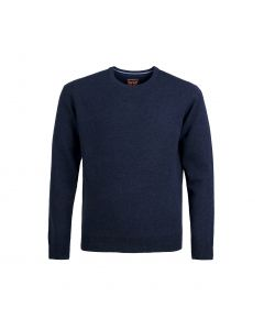 SWEATER ROUND-NECK, NAVY