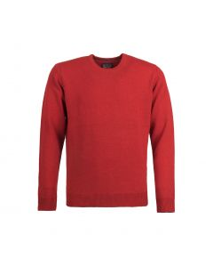SWEATER ROUND-NECK, RED