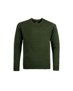 SWEATER ROUND-NECK, OLIVE