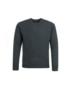 SWEATER ROUND-NECK, CHARCOAL