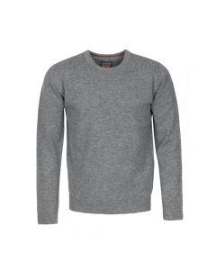 SWEATER ROUND NECK, GREY