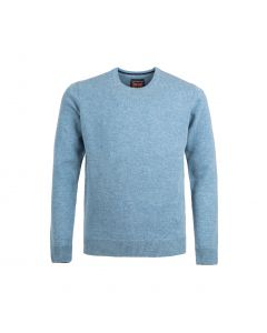 SWEATER ROUND-NECK, SKY