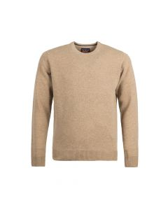SWEATER ROUND-NECK, CARAMEL
